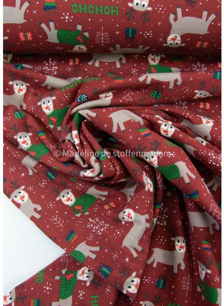 M HoHoHo kersttricot