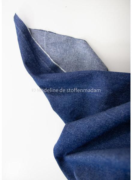 M washed denim comfort stretch - indigo - 12oz