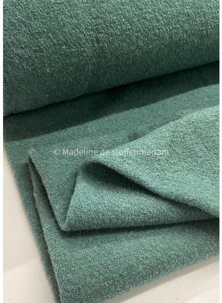 balsam green - boiled wool
