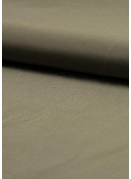 M khaki - trenchcoat stof