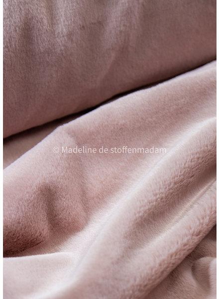 Bel'Etoile Bel'Etoile - faux fur - poederroze