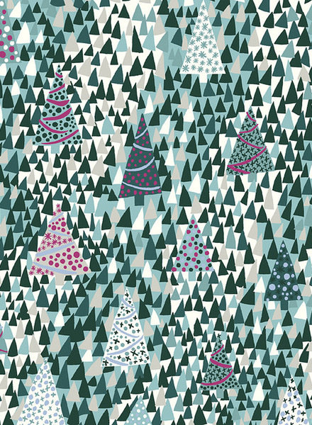LIBERTY LONDON sparkling forest - katoen