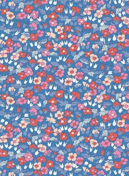 LIBERTY LONDON picadilly poppy - cotton