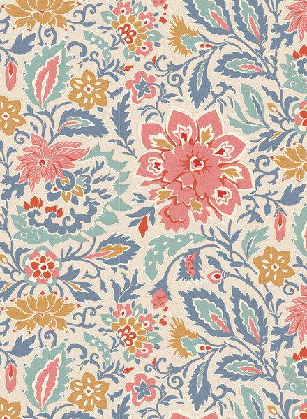 Tilda Skyler blue - cotton
