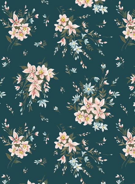 LIBERTY LONDON Winterbourne bouquet - katoen