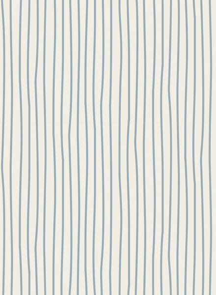 Tilda Pen stripe light blue - cotton