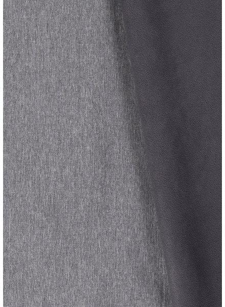 grey melange - softshell