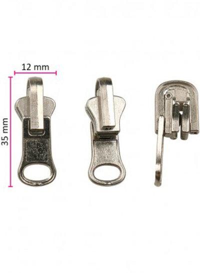 M reversible zipper puller