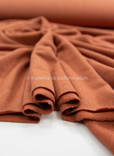 Bel'Etoile roest - soepele zachte dunne gebreide stof