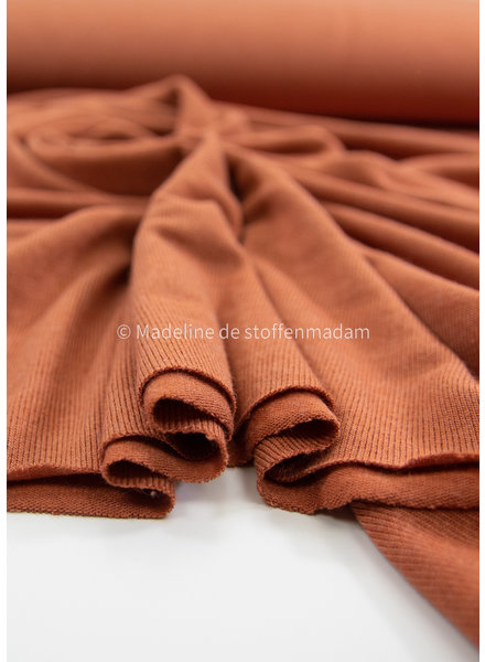 Bel'Etoile rust- soft knitted fabric