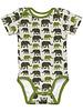 Swafing khaki olifanten - tricot