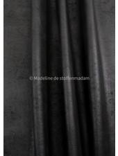 M zwart imitatieleer - perfect om te stofferen en voor tassen - stevige kwaliteit