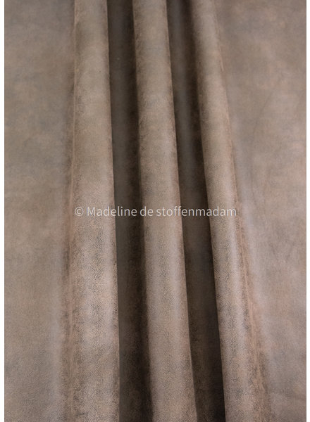 M cognac vegan leather - perfect for bags and furniture - nice quality