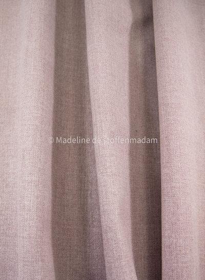 M oudroze geruwd doek met fleece achterkant - perfect voor tassen of om te stofferen - voor interieur