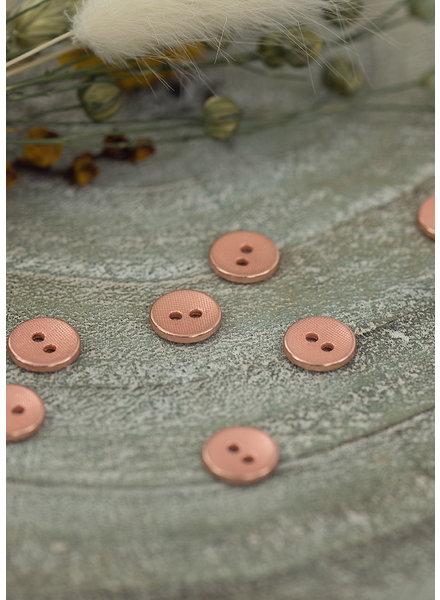See You at Six Knoop 11mm -  Metaal Textuur Rosé Koper