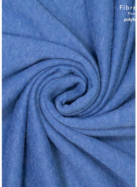 Fibremood blauwe gebreide stof - mohair touch - Clemence