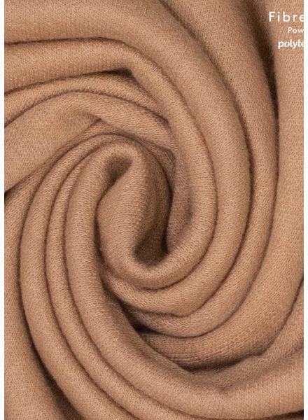 Fibremood camel - gebreide stof - mohair touch - Clemence