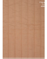 Fibremood almond quilted cotton - vertical rows - Irma Giselle