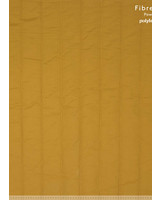 Fibremood ochre quilted cotton - vertical rows - Irma Giselle