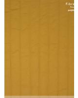 Fibremood oker gematelasseerde katoen - verticaal stiksel - Irma Giselle