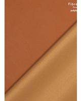 Fibremood camel- imitatieleer stretch zachte achterkant - Tilda Flora