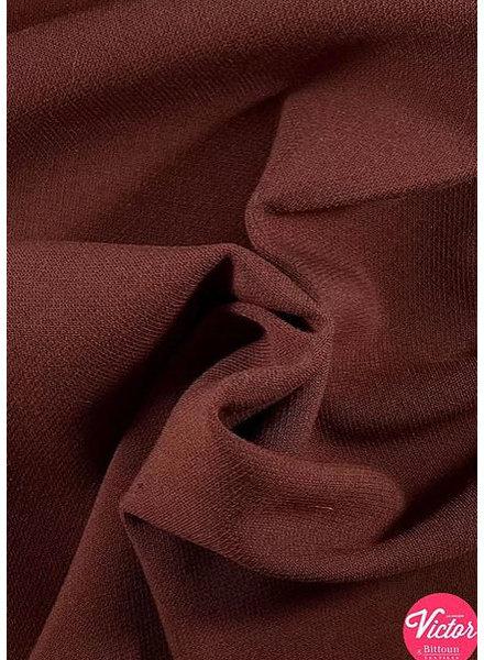 La Maison Victor roest -  stretch gabardine keperbinding