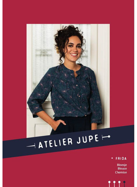 Atelier Jupe Frida blouse -Atelier jupe