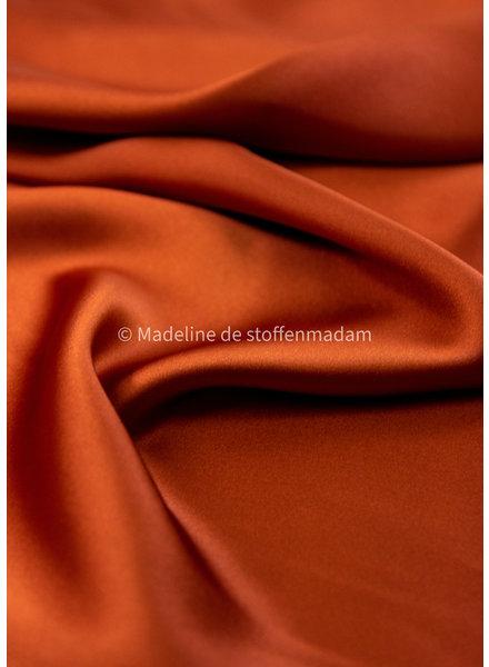 M Italian satin - copper - slight stretch