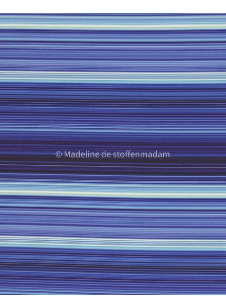 Swafing blauw gestreepte - softshell