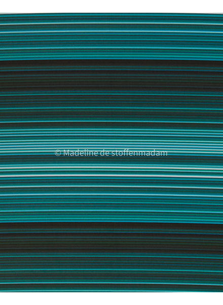 Swafing turquoise  gestreepte - softshell