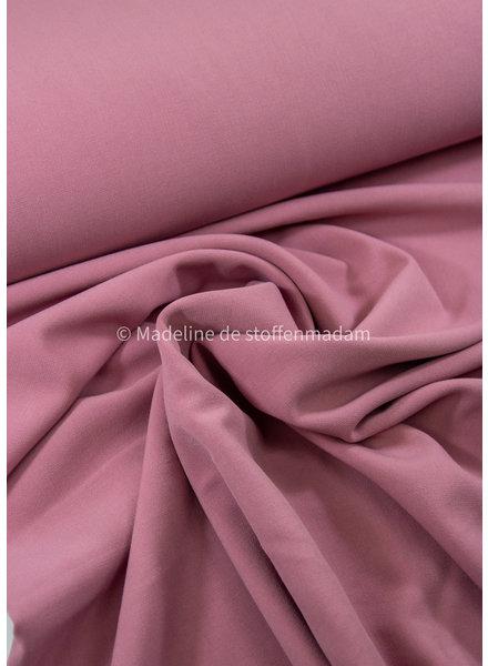 A La Ville roze  - dikkere damesstof - Natan broeken en kleedjes kwaliteit - rekbaar