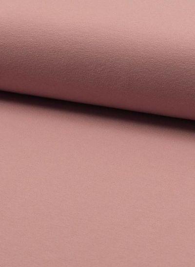 oud roze 013 - effen tricot