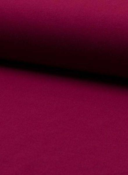 Madeline burgundy 118 - solid jersey