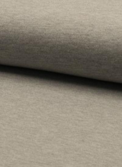 effen tricot licht grijs melee