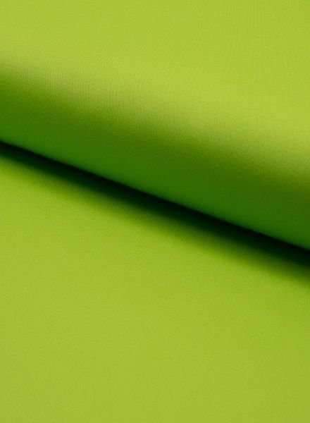 twill with spandex lime