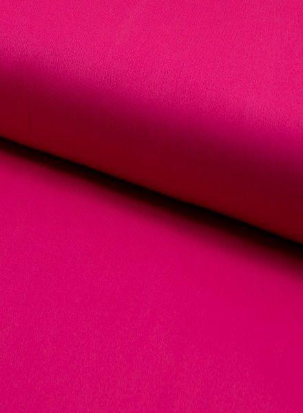 gabardine fuchsia roze