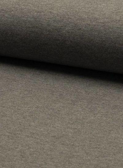 jersey knit heather dark grey