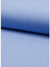 effen tricot blauw