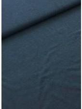 effen tricot melee jeansblauw