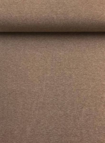effen tricot melee bruin
