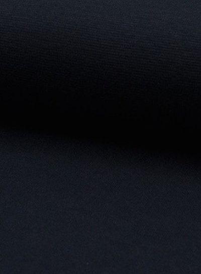 donkermarineblauw - effen  boordstof OEKO TEX