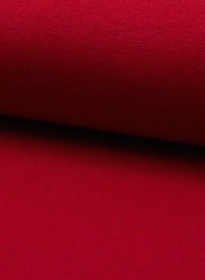 rib cuff red
