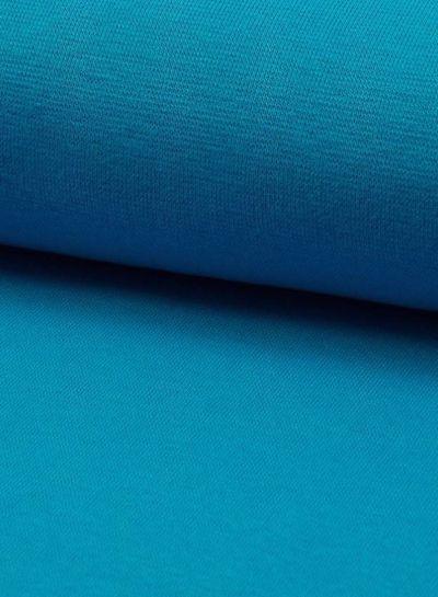 turquoise - effen boordstof OEKO TEX