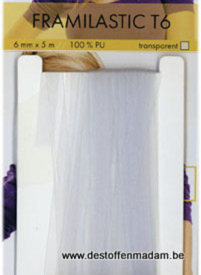 framilastic T6 - transparante, elastische band
