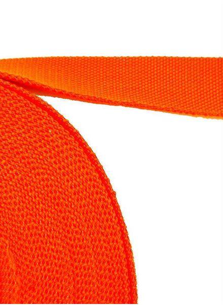 cotton webbing orange