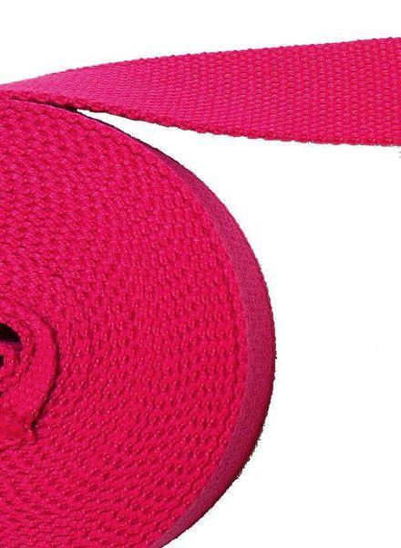 tassenband fel roze