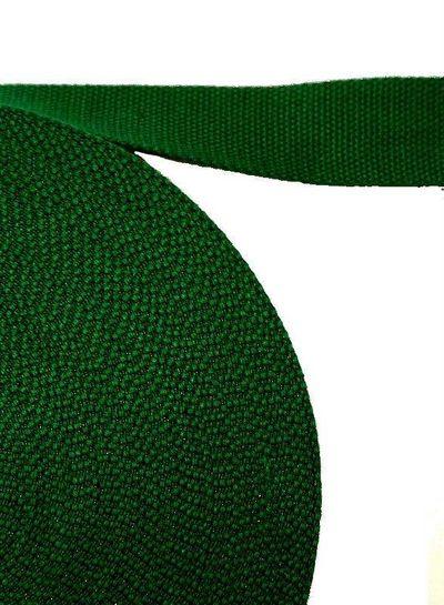 cotton webbing dark green