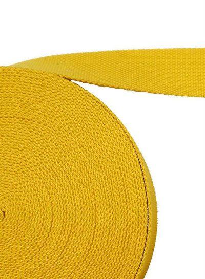 cotton webbing yellow