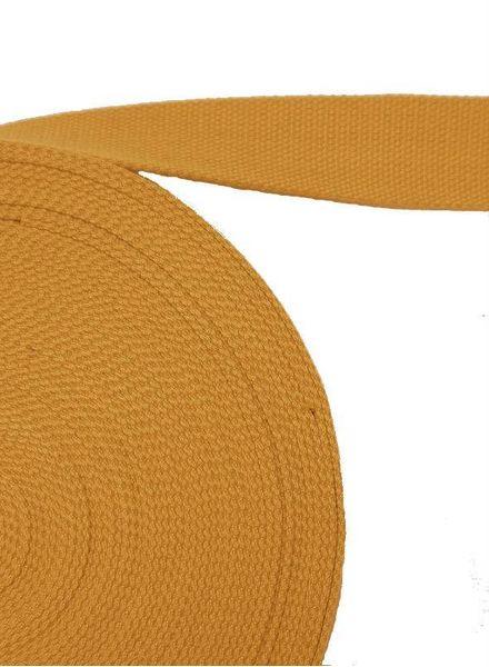 cotton webbing ochre