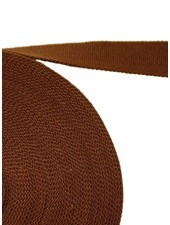 cotton webbing brown